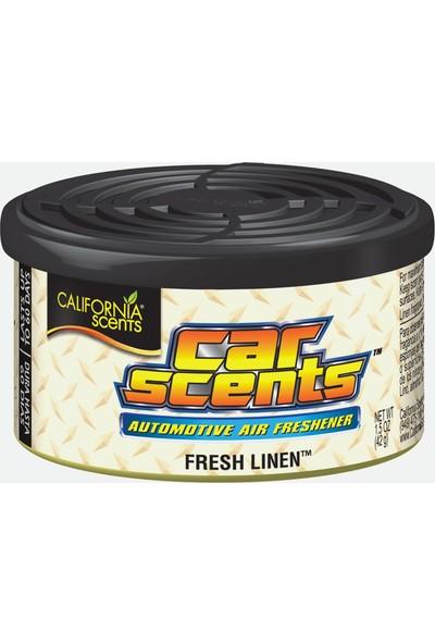 California Scents - Car Scents Fresh Linen (Ferah Temizlik Kokusu)
