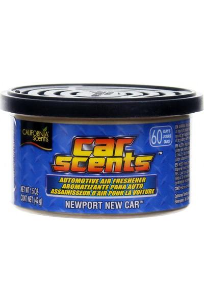 California Scents - Car Scents New Port New Car (Yeni Araba Kokusu)