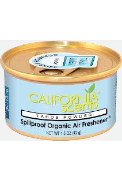 California Scents - Spillproof Canister Tahoe Powder (Pudra Kokusu)