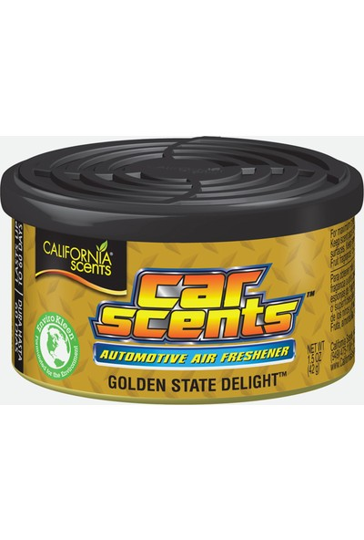 California Scents - Car Scents Golden State Delight (Lokum kokusu)