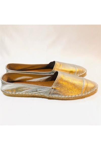 Gloria Silver Düz Deri Ayakkabı