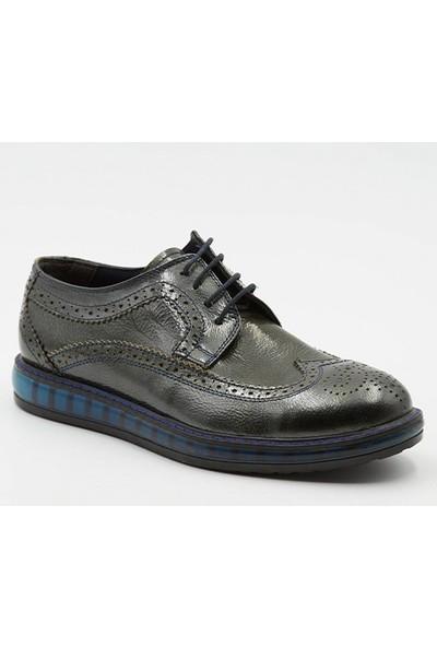 Grotto G2140109T26 Füme Rugan Deri Erkek Ayakkabı
