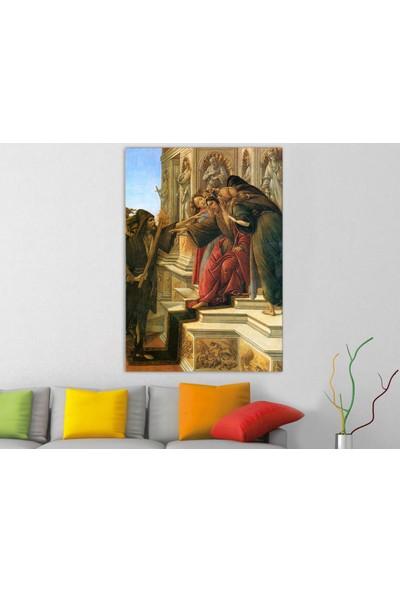 Artas Sandro Botticelli Iftira Kanvas Tablo