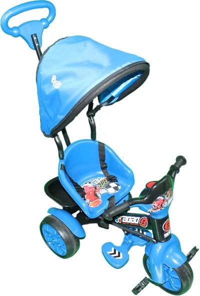 Babyhope Bobo Speed 3 Tekerli Bisiklet - Mavi