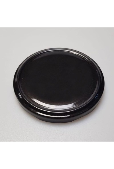 Şişecam Cam Kavanoz 300CC ve Metal Kapak Siyah (6'lı Paket)