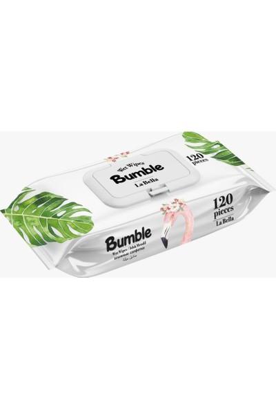 Bumble La Bella Kapaklı Islak Mendil 12'li x 120'LI Paket 1440 Yaprak