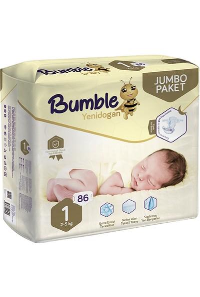 Bumble Jumbo Bebek Bezi 1 Numara 4'lü Paket 344'LÜ