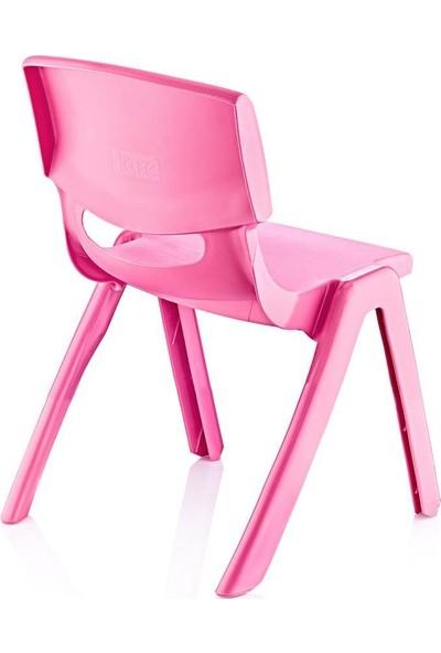 Fiore Çocuk Masa Sandalye Takımı Pembe H50