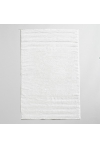 Chakra Diretta 4'lü Banyo Paspas Havlu Seti Ekru