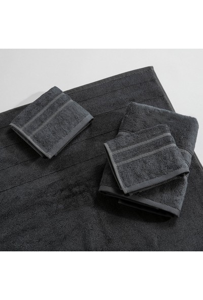 Chakra Diretta 4'lü Banyo Paspas Havlu Seti Granit