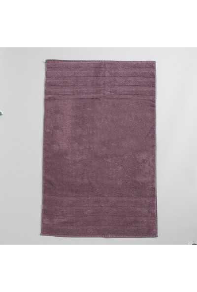 Chakra Diretta 4'lü Banyo Paspas Havlu Seti Gül Kurusu