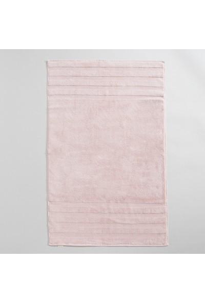 Chakra Diretta 4'lü Banyo Paspas Havlu Seti Rose