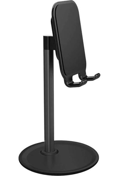 Wlue Elegant Plastik Telefon Tutucu Stand Siyah