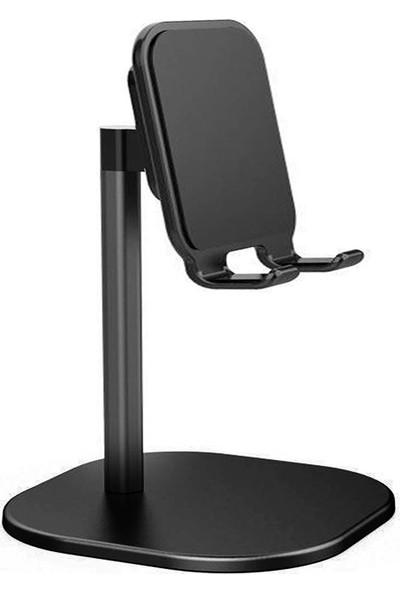 Wlue Masaüstü Oynar Başlık Telefon ve Tablet Tutucu Stand Siyah