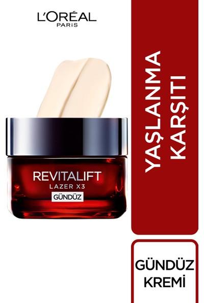 L'Oréal Paris Revitalift Lazer X3 Yoğun Yaşlanma Karşıtı Gündüz Bakım Kremi
