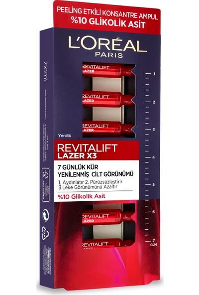 Loreal Revitalift Lazer 7 Günlük Kür Peeling Etkili Ampul 7X1ML