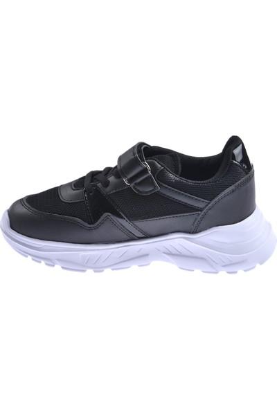 Ayakland S11 Günlük Fileli Cırtlı Kız/Erkek Çocuk Spor Ayakkabı