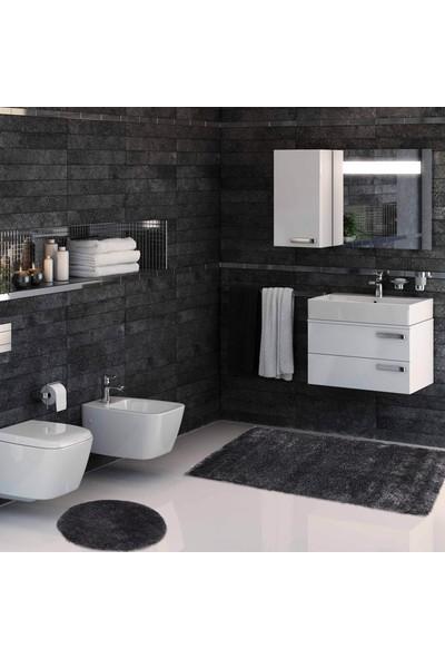 Hepsi Home Soft 2'li Banyo Paspası Antrasit