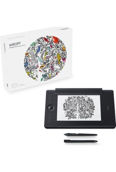 Wacom Intuos Pro Paper Medium 8192 Seviye 5080 lpi 8 ExpressKeys Bluetooth Grafik Tablet (PTH-660P)