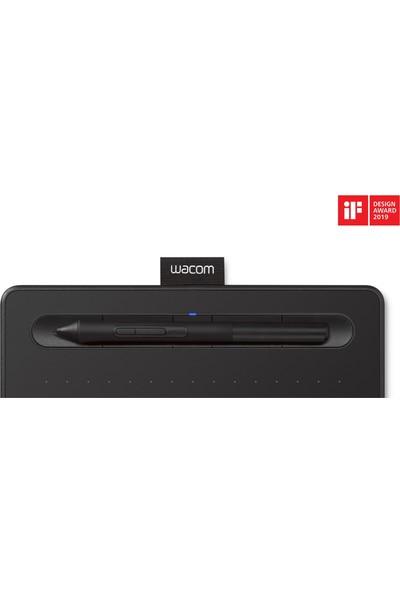 Wacom Intuos Small 7.87 x 6.3inç 4096 Seviye Bluetooth Grafik Tablet (CTL-4100WLK)