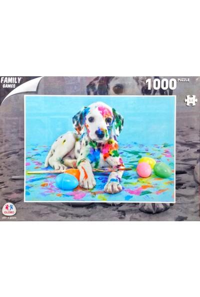 Globo Dalmatian Puzzle Dalmaçyalı Köpek 1000 Parça