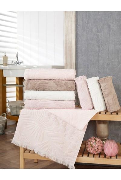 Şıkel Cotton Penye Amazon Bukle 50 x 90 cm El ve Yüz Havlusu 4'lü