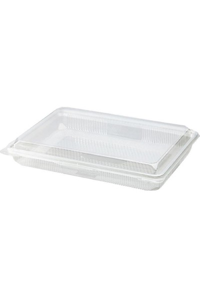 Çelikpençe Plastik Baklava Kabı 500 gr - 100 Adet