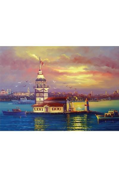 Doğuş 1000 Parça Puzzle Istanbul Kız Kulesi 011