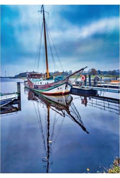 Doğuş Tekne ve Kıyı Manzarası 1000 Parça Puzzle 024
