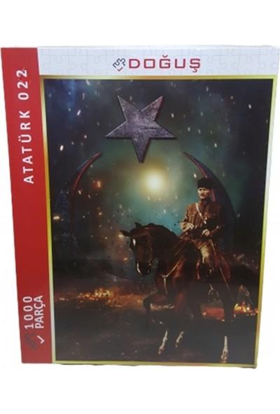 Doğuş Ay Yıldız ve Atatürk 1000 Parça Puzzle 022