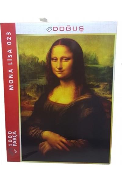 Doğuş Mona Lisa Portre 1000 Parça Puzzle 023