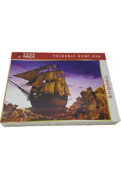 Doğuş Yelkenli Gemi 1000 Parça Puzzle 030