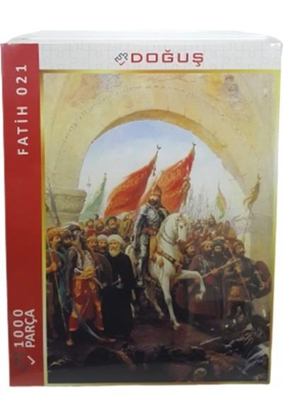 Doğuş İstanbul'un Fethi Fatih Sultan Mehmet 1000 Parça Puzzle 021
