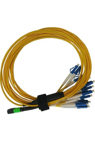 Netfo Mpo 12 Core Lc S.mode Fanout Fiber Optik Kablo