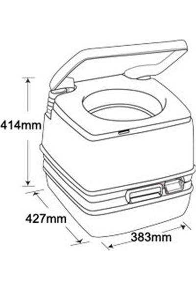 Thetford Porta Potti 165 Portatif Kamp Karavan Wc Tuvalet