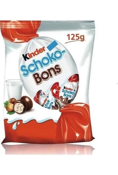 Kinder Schoko Bons Çikolata 125 gr - 16'lı