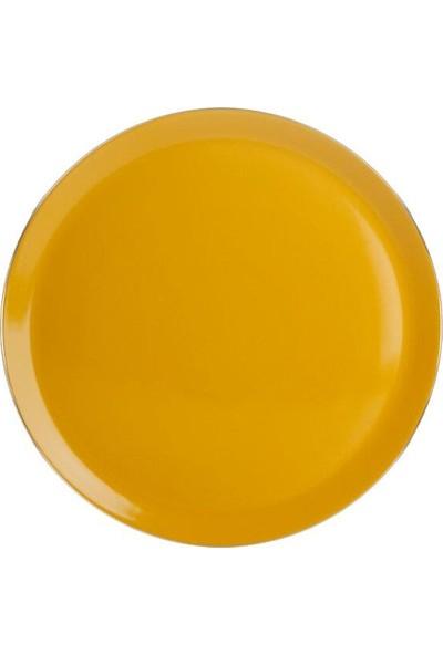 Porland Morocco Sarı Düz Tabak 32cm 04A+P018847