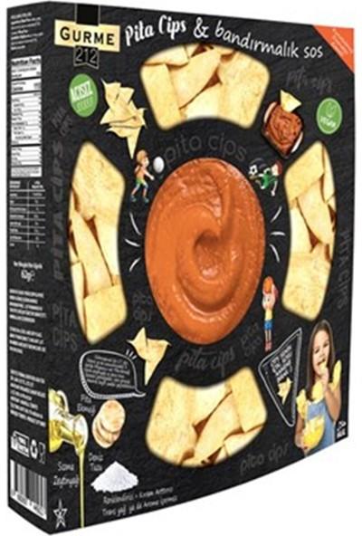 Gurme212 Pita Chips Kuru Domatesli Bandırmalık Sos 242 gr