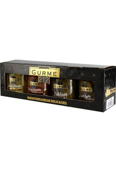 Gurme212 4'lü Akdeniz Lezzetleri Seti 4 X 255 ml