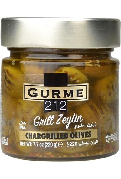 Gurme212 Grill Yeşil Zeytin 255 ml
