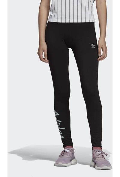 Adidas DU9928 Kadın Spor Tayt Siyah