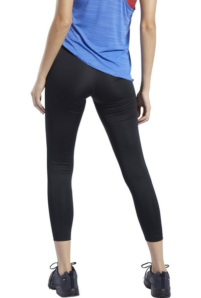Reebok FQ0387 Workout Ready Comm Siyah Kadın Spor Tayt