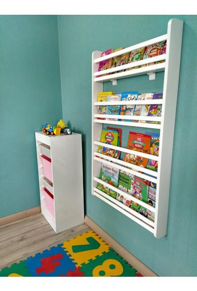 Emdief Home Safir Serisi 4 Raflı Montessori Kitaplık