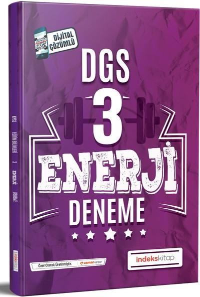 Indeks Akademi Yayıncılık DGS Enerji 3 Deneme Dijital Çözümlü