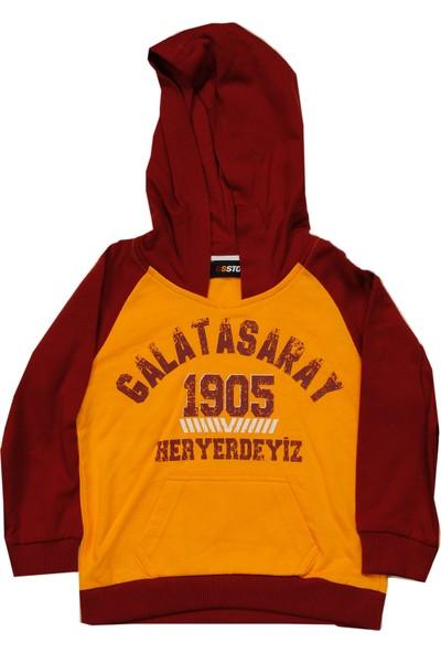 Galatasaray Çoçuk Kapşonlu Sweatshirt ZB813