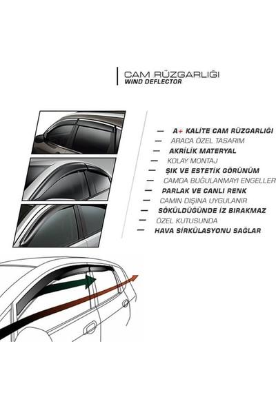 Mugen Fiat Palio Weekend 1997 -2008 Cam Rüzgarlıgı Mügen Tip