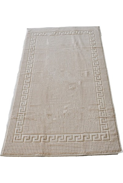 Neşe Home Collecti̇on Grek Paspas 70 x 140 cm Ayak Havlu&paspas Bej