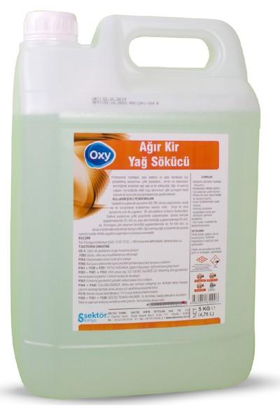 Oxy Tüm Mutfak Yüzeyleri Ağır Kir ve Yağ Sökücü 5 lt