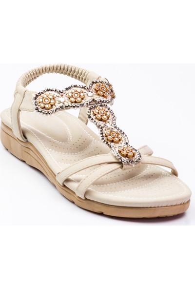 Guja 150 - 13 Kadın Sandalet Beyaz