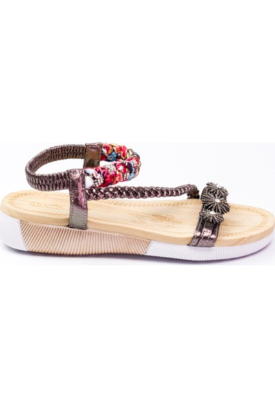 Guja 232 - 8 Kadın Sandalet Gri